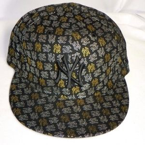 Rare 59FIFTY CAP NY YANKEES TEAM FOIL BLACK GOLD